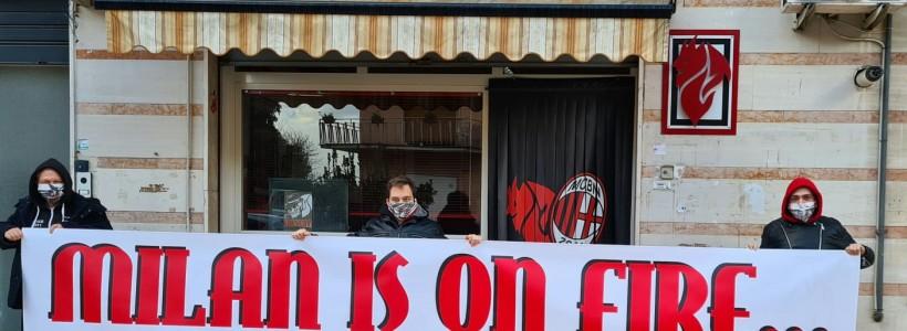 L'accoglienza della squadra a Benevento