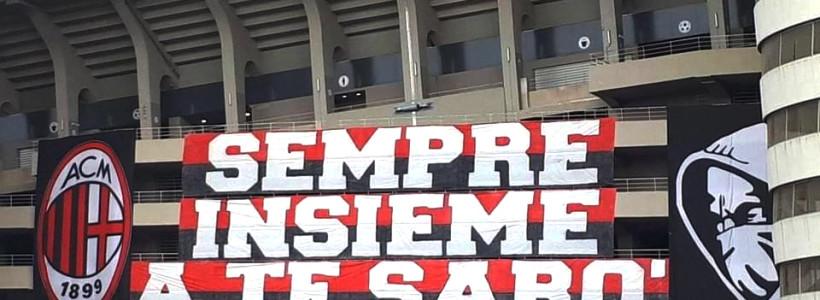 Milan-Inter… L'arrivo della Squadra a San Siro… Un grazie a tutti i nostri club…!!!