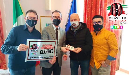 Milan Club Val Vibrata… quando il COVID non ferma i nostri progetti