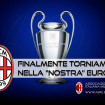 ATALANTA 0 – MILAN 2… E finalmente in CHAMPIONS…!!!