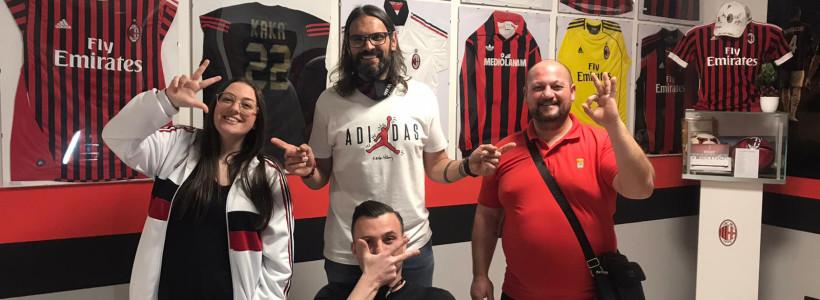 Un saluto dal Milan Club Desenzano