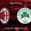 Partita amichevole AC Milan – Panathinaikos FC