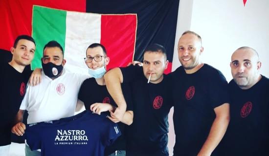Inaugurazione Milan Club Siniscola (Sardegna)