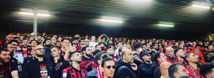 I nostri Milan Club presenti ad Anfield